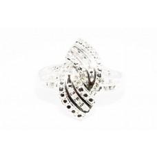 Кольцо. Натуральный бриллиант. Серебро 925. К5804