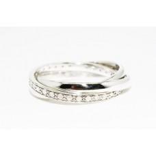 Кольцо. Натуральный бриллиант. Серебро 925. К5867