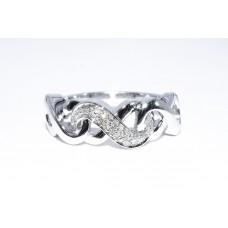 Кольцо. Натуральный бриллиант. Серебро 925. К7464