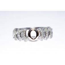 Кольцо. Натуральный бриллиант. Серебро 925. К7465