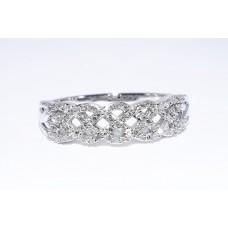 Кольцо. Натуральный бриллиант. Серебро 925.  К7693