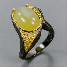 Handmade! Кольцо. Натуральный опал. Серебро 925.