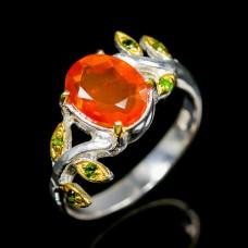 Handmade!!! Кольцо. Натуральный опал. Серебро 925.К8686